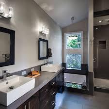mahogany grey bathroom contemporary with color scheme modern