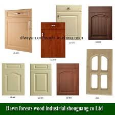 mdf kitchen cabinet doors china kitchen furniture parts pvc film mdf kitchen cabinet door