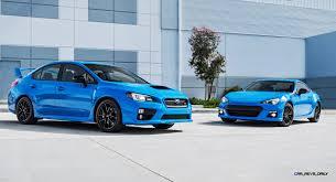 subaru sports car 2016 2016 subaru series hyperblue editions