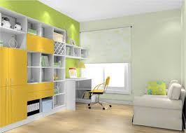 fresh color combinations for study room 3d house