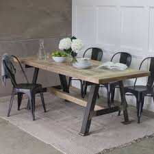 industrial dining tables notonthehighstreet com