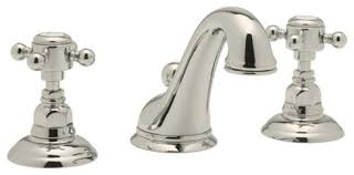 Cisal Faucets Country Bathroom Faucet Widespread Bathroom Faucet In Polished