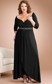look fabulous in plus size evening dresses with sleeves