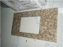 Granite Countertops For Bathroom Vanities Giallo Fiorito Granite Bathroom Countertops Bathroom Vanity Tops