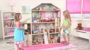 Doll House Furniture Ideas Decorating Wonderful Kidkraft Majestic Mansion Dollhouse 65252