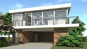 contemporary getaway 44065td architectural designs house plans