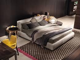 bolton bed by poliform design giuseppe viganò bedroom