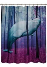 Novelty Shower Curtains Animal Print Shower Curtain Foter