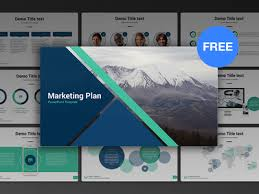 Free Powerpoint Template Marketing Plan By Hislide Io Dribbble Free Power Point