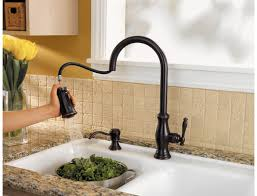 kitchen faucet ideas tuscan bronze hanover 1 handle pull kitchen faucet gt529 tmy