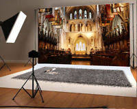 church backdrops 5x7ft background theme church photography studio wedding vinyl