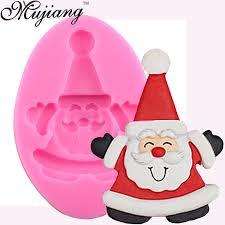 online shop mujiang baking santa claus silicone mold christmas