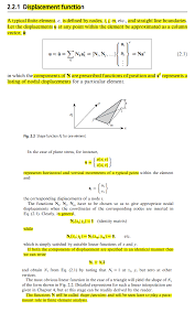 finite element basic explanation of shape function