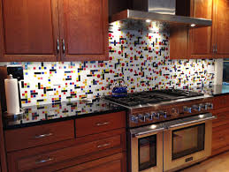 Tracys Story A Coonley Colorful Glass Tile Backsplash - Colorful backsplash tiles