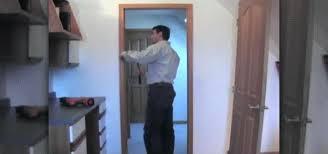 Repair Interior Door Frame How To Replace A Door Jamb Much Replacing Door Frame