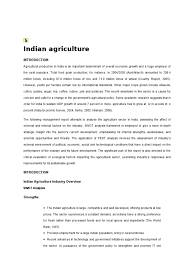 sample of swot analysis report 29809038 swot analysis of agriculture of india green revolution 29809038 swot analysis of agriculture of india green revolution agriculture