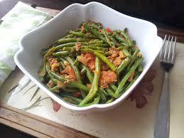 cuisiner des haricots verts surgel poêlée d haricots verts à la viande hachée bienvenue chez