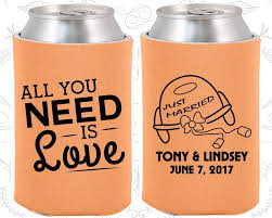 custom wedding koozies 600 best wedding koozies 3 2016 images on wedding