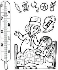 doctor coloring page tools worksheets kindergarten and bag