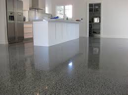 polished concrete floors look luxurious with polished