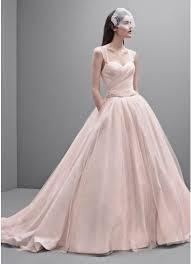 white by vera wang taffeta and tulle wedding dress david u0027s bridal