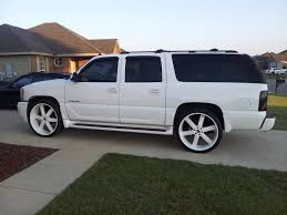 2004 white custom yukon xl google search trucks pinterest