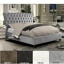 Suede Bed Frame Suede Bed Frame Bed Frame Katalog B5bba3951cfc