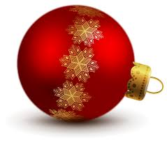 transparent red christmas ball ornaments clipart gallery