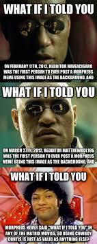 Morpheus Meme - livememe com morpheus meme facts