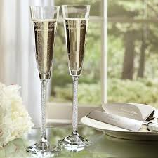 wedding goblets exclusively weddings oleg cassini toasting flutes