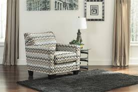 Ashley Furniture Accent Chairs Gayler Black And White Accent Chair By Ashley Furniture