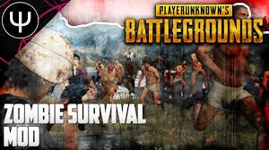 pubg zombie mod playerunknown s battlegrounds zombie survival mod youtube