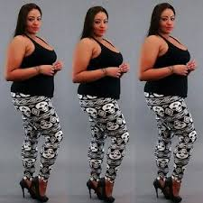 Plus Size Skeleton Leggings Plus Size Skeleton Leggings Help You To Make A Bold Fashion Statement