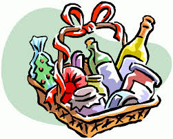 raffle baskets gift clipart christmas basket pencil and in color gift clipart