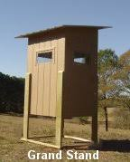 Building A Box Blind Shooting House Grand Stand Plans