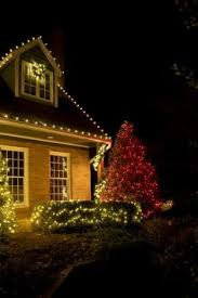 red and white bulb christmas lights client had us install christmas lights on her beautiful waterfront