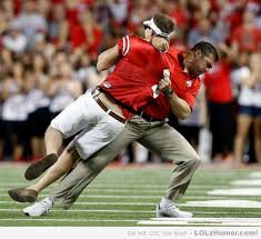 Funny Ohio State Memes - during the ohio state football game someone ran out onto the field