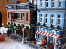 finished lego 10246 detective u0027s office modification flickr