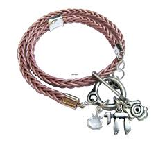 wrap bracelet with charms images Chai with multi charms wrap bracelet jewelry accessories jpg