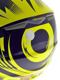 motocross helmet designs troy lee designs yellow purple 2013 se3 cyclops mx helmet troy