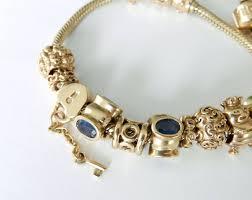 pandora chain bracelet charms images Gold pandora charm bracelet the best of 2018 jpeg