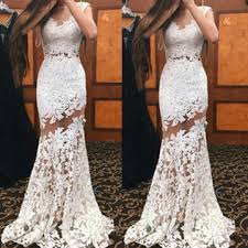 lolipromdress review 49 off long white mermaid sleeveless appliques prom dresses 2018
