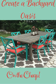Patio Table Glass Shattered by Learn To Create A Diy Patio Table Then Style It Using Inexpensive