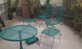 Turquoise Patio Chairs Painting Metal Patio Furniture Cushions 15 Astounding Painting