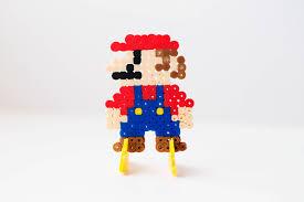 stand perler bead characters mario u2014 boys