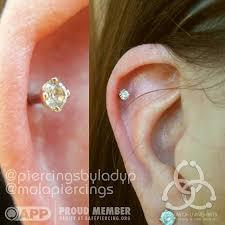 cartilage piercing earrings museum of living arts piercing jewelry piercing