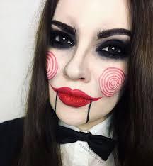 Puppet Doll Halloween Costume 25 Jigsaw Makeup Ideas Jigsaw Costume