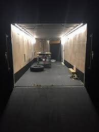enclosed trailer led lights 120v led light strips long run strips for indoors and out