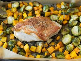 healthy sheet pan thanksgiving dinner food network healthy eats