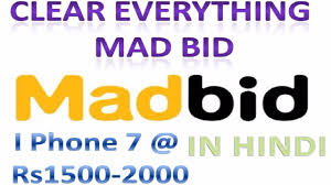 mad bid mad bid explained buy i phone rs1500 200